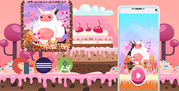 Sweet Candy Yeti Adventure (Admob+Android Studio+Eclipse)