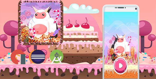 Sweet Candy Yeti Adventure (Admob+Android Studio+Eclipse)