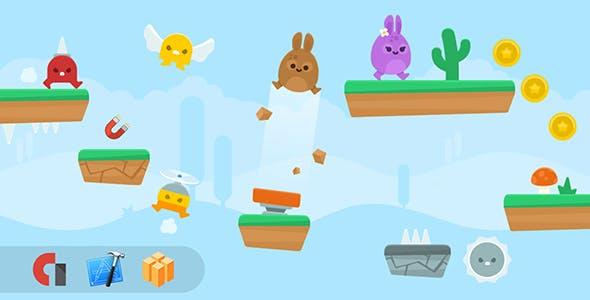 Jumper - IOS XCODE Source + Buildbox Template