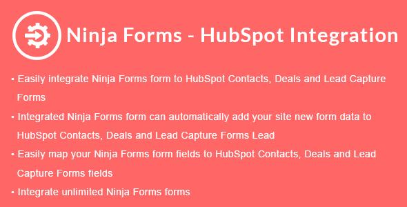 Ninja Forms - HubSpot Integration