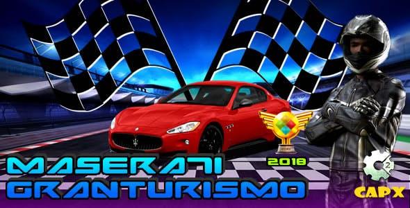 Maserati GranTurismo (CAPX + HTML) Game!