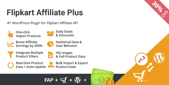 Flipkart Affiliate Plus - Affiliate Product Management Plugin