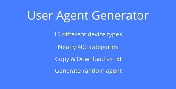User Agent Generator