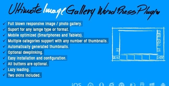 Ultimate Image Gallery Wordpress Plugin
