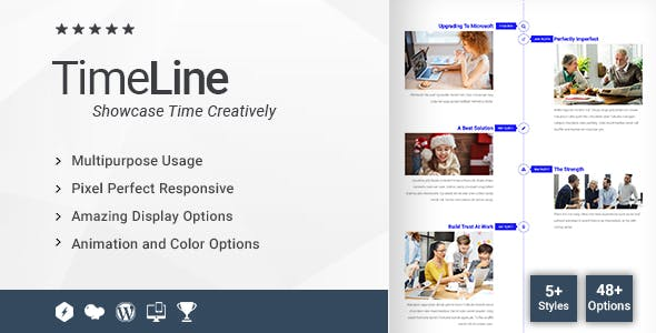 Time Line Addon for WPBakery Page Builder (formerly Visual Composer)