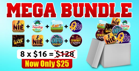 Mega Bundle - 8 Android Games in 1 Mega Bundle