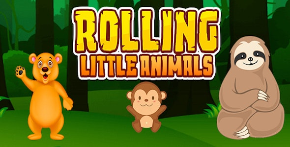 Rolling Little Animals - CodeCanyon Item for Sale