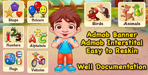 Pre School Learning Game + Best Education Game + Admob