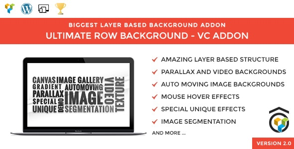 Parallax | Video | Particles | Gallery | Ultimate Layered Backgrounds for WPBakery (Visual Composer) - CodeCanyon Item for Sale
