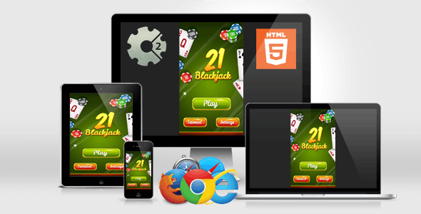BlackJack 21 - HTML5 Casino Game