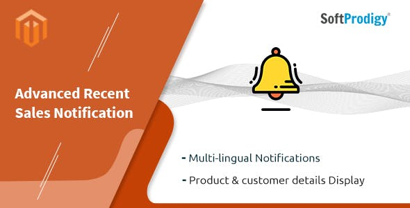 Advanced Recent Sales Notification Magento Extension