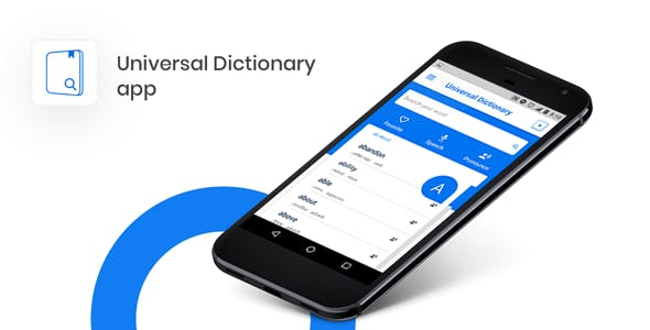 Dictionary App Template on Firebase | Offline Capability | Push Notification