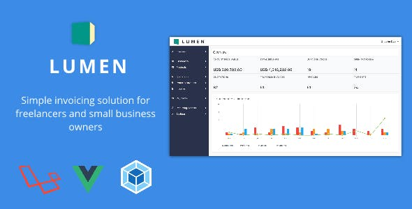 Lumen - A simple invoicing solution