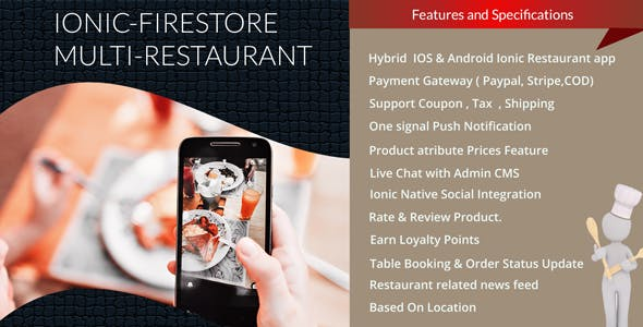 Multi Restaurant App With Firestore
