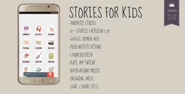 Stories for Kids - Android Storybook App for Books - CodeCanyon Item for Sale