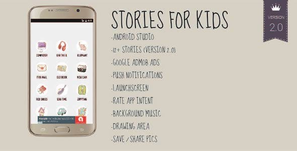 Stories for Kids - Android Storybook App for Books