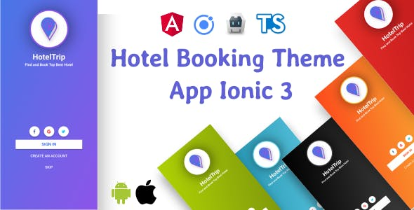 Hotel Booking Theme App Supports i18n