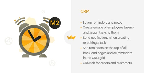 CRM for Magento 2 - CodeCanyon Item for Sale