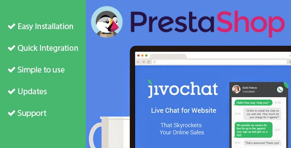 Jivo Chat for Prestashop - CodeCanyon Item for Sale