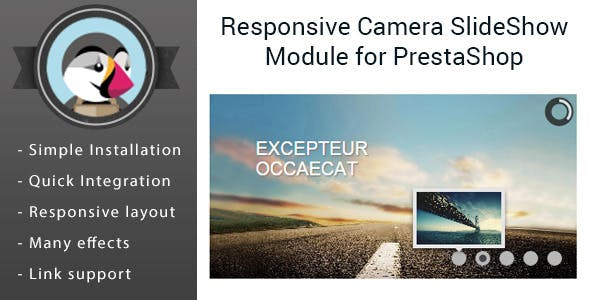 Camera Slider Images Module for PrestaShop