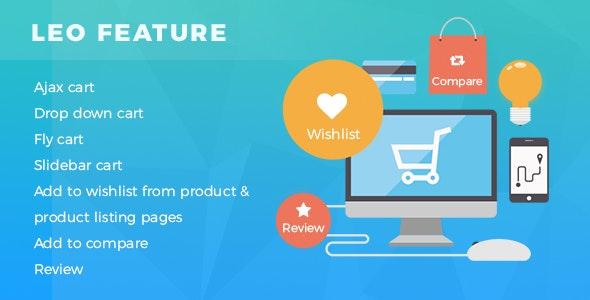Leo Feature Prestashop 1.7 Module for Ajax cart | Compare | Wishlist - CodeCanyon Item for Sale