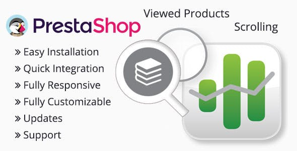 "Scroll animate ""Viewed Products"" for Prestashop"