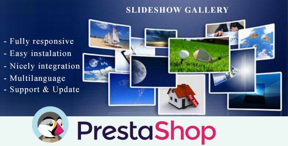 Slideshow Gallery for Prestashop