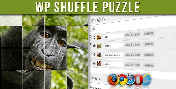 WP Shuffle Puzzle - CodeCanyon Item for Sale