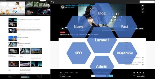 Yumefave | Laravel News & Blog - CodeCanyon Item for Sale