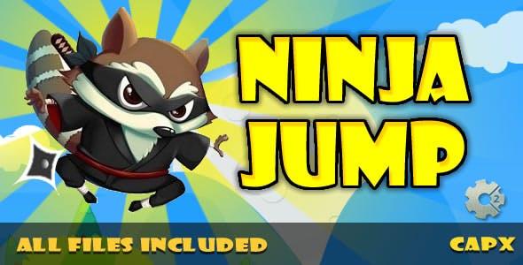 Ninja Jump (HTML & CAPX) Game!