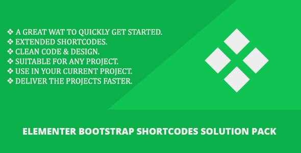 Elementer - Bootstrap Shortcodes Solution Pack - CodeCanyon Item for Sale