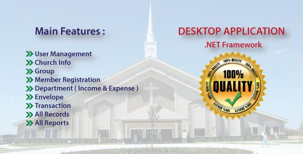Church Management & Accounting System With Source Code 2020