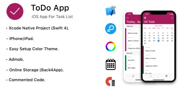 TODO App - iOS App For Task List (Online Storage Parse)