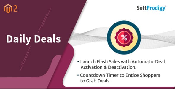 Advanced Daily Deals Magento 2 Extension