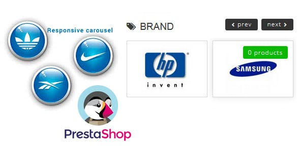 Brand Logos Carousel for Prestashop