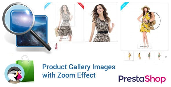Prestashop Product Images ZOOM