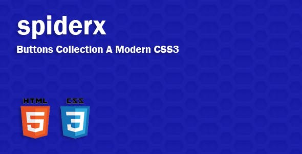 spiderx A Modern CSS3 Buttons Collection