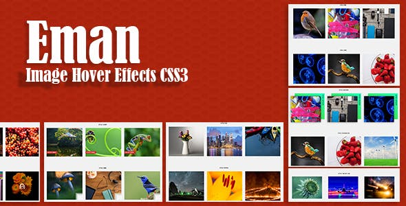 Eman - Awesome CSS3 Image Hover Effects
