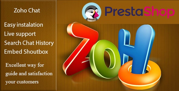 Prestashop Module Perfect Live Chat  Zoho Support Online - CodeCanyon Item for Sale