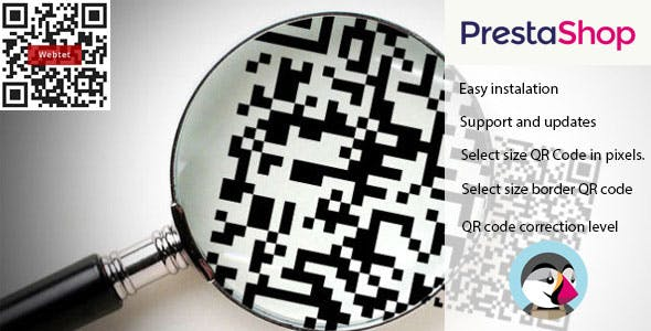 QR-Code for Prestashop