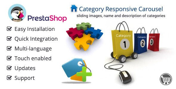 Category Carousel for Prestashop
