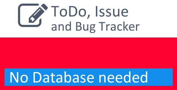 ToDo List, Issue and Bug Tracker