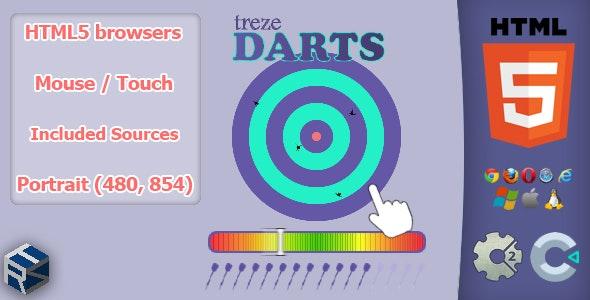 trezeDarts - HTML5 Skill Game - CodeCanyon Item for Sale