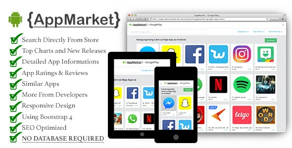 AppMarket - Google Play Store - CodeCanyon Item for Sale