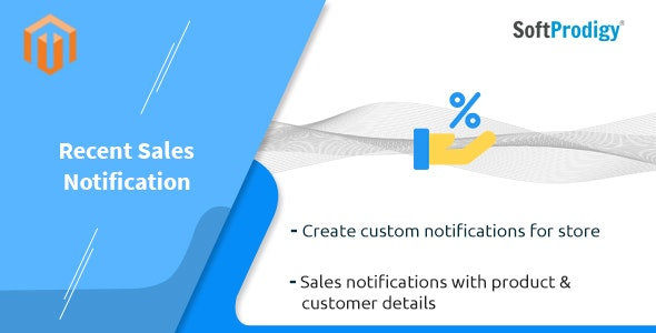 Recent Sales Notification for Magento 2 - CodeCanyon Item for Sale