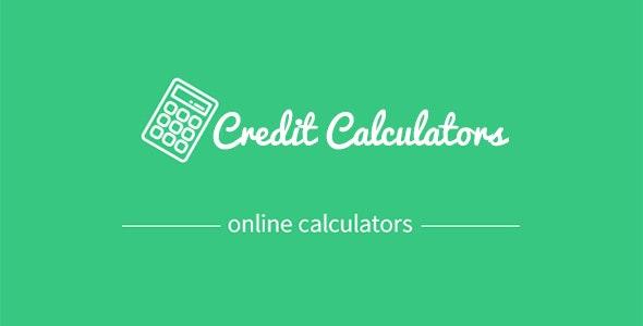 Credit calculators - CodeCanyon Item for Sale