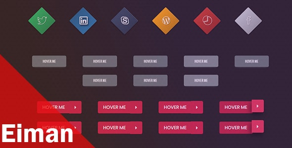 EIMAN CSS3 Buttons Collection - CodeCanyon Item for Sale