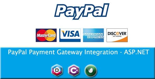 PayPal Payment Gateway Integration - ASP.NET