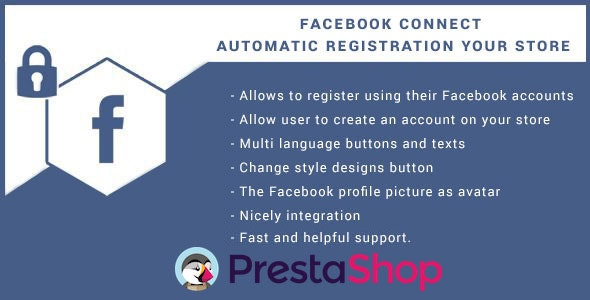 Facebook Connect for Prestashop, Login Button. - CodeCanyon Item for Sale