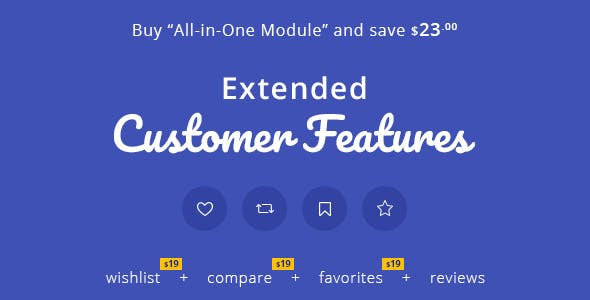 Extended Customer Features